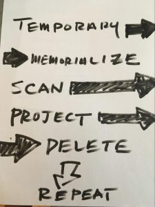 memoralize delete repeat